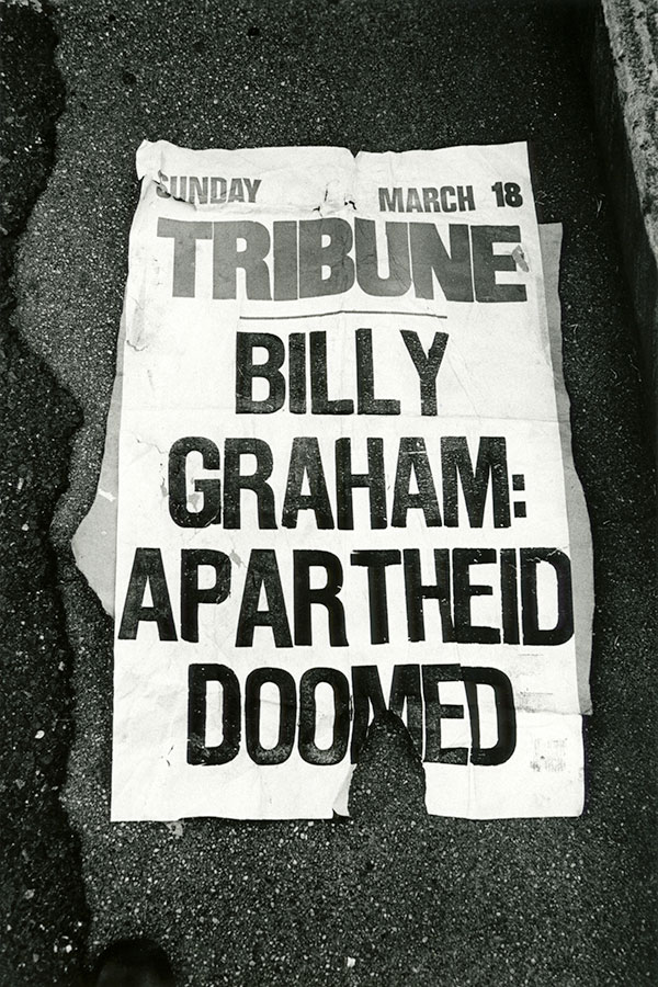Billy Graham: Apartheid Doomed