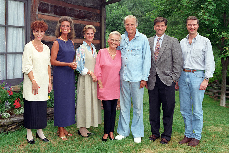 Billy Graham and Family