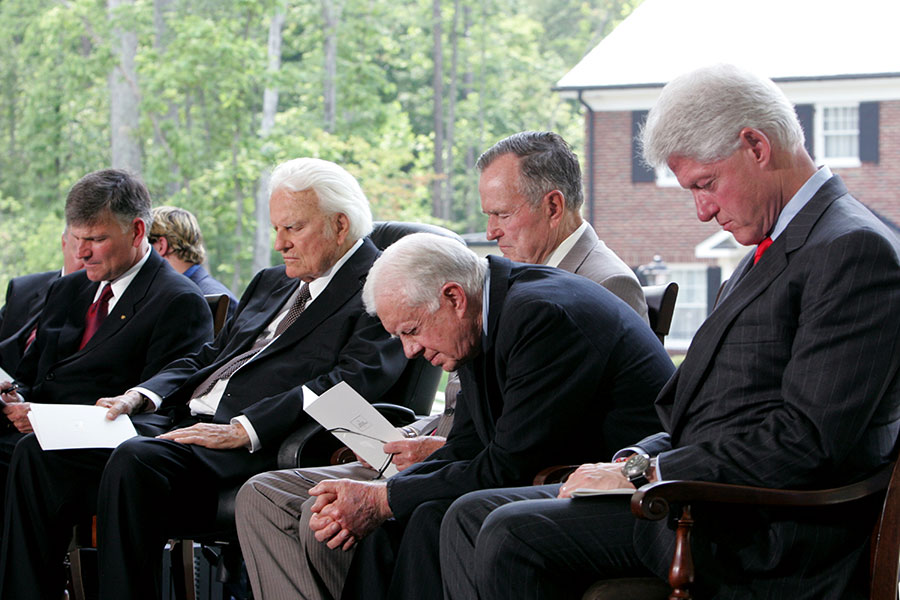 Billy Graham Library Dedication
